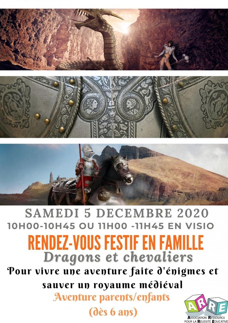 RDV festif en famille Dragons et chevaliers