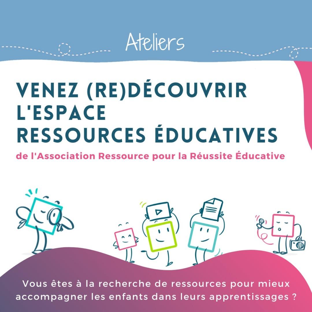 Ateliers | (Re)Découverte de l'espace <br> ressources éducatives ARRE