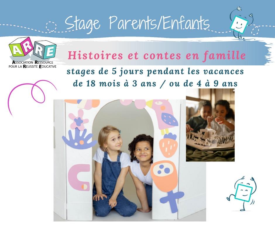 STAGE Parents Enfants| Histoires et Contes, pour des histoires en famille